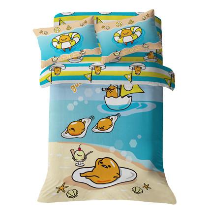GU1602 - Gudetama Fitted Sheet + Pillowcase