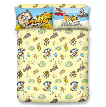 GU2101 - 梳乎蛋 1000針棉質床笠連枕套