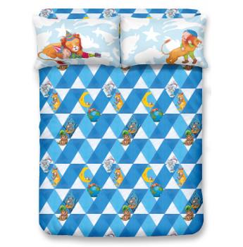 JM2101 - 幾米 <<擁抱>> 1700針全棉貢緞床笠連枕袋